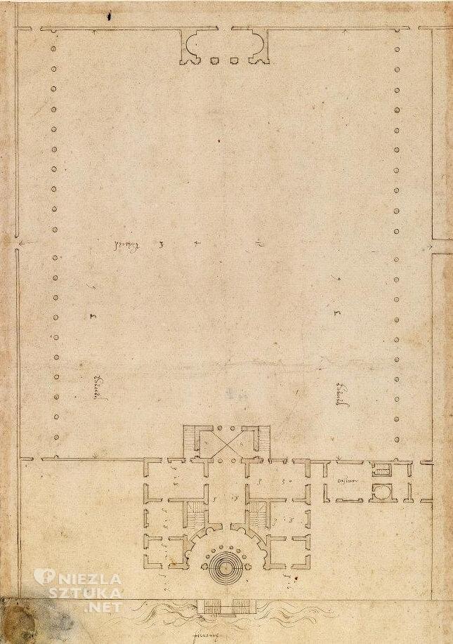 Willa Pisani w Bagnolo di Lonigo, architektura, Niezła sztuka