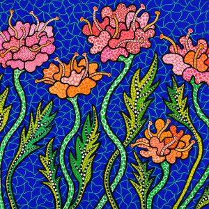 Yayoi Kusama, Letnie kwiaty, sztuka współczesna, Niezła Sztuka