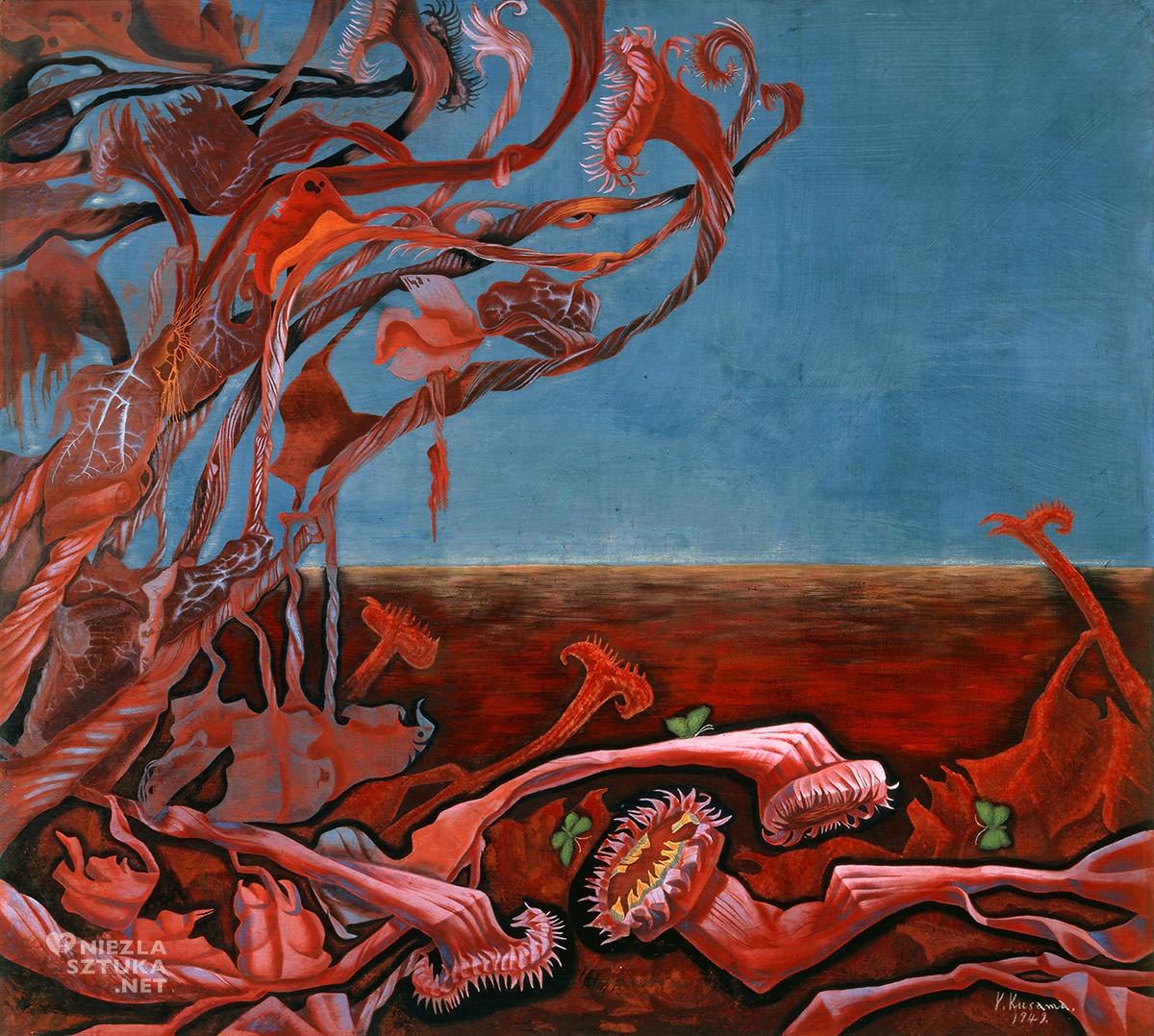 Yayoi Kusama, Niekończący się sen, sztuka współczesna, Niezła Sztuka