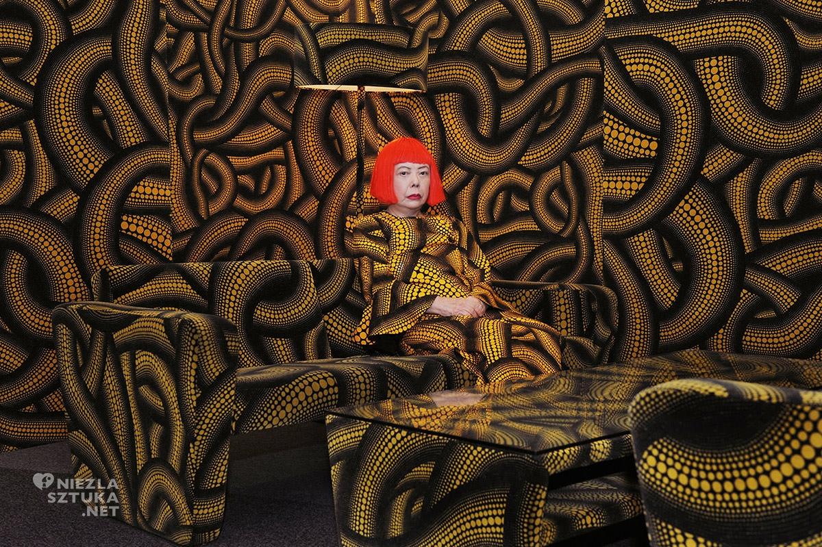 Yayoi Kusama, sztuka współczesna, kobieta w sztuce, Niezła Sztuka