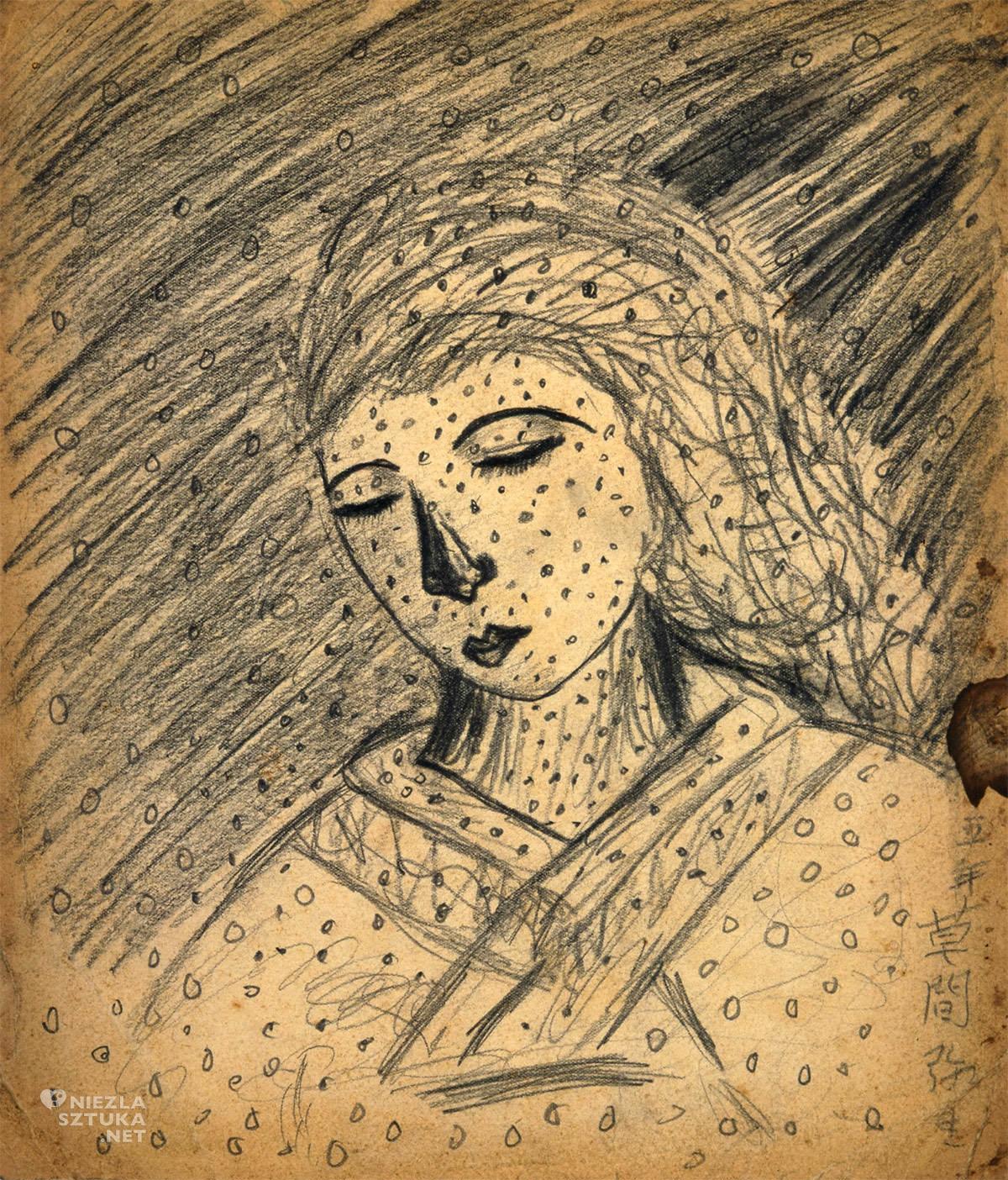 Yayoi Kusama, rysunek, kobiety w sztuce, Niezła Sztuka