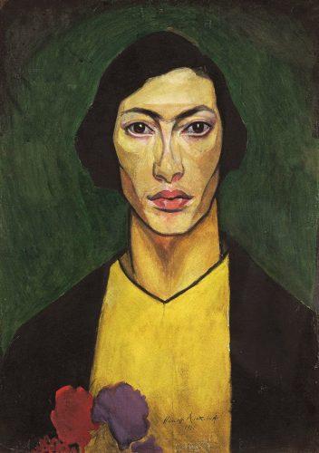 Natan Altman, Autoportret, Niezła sztuka