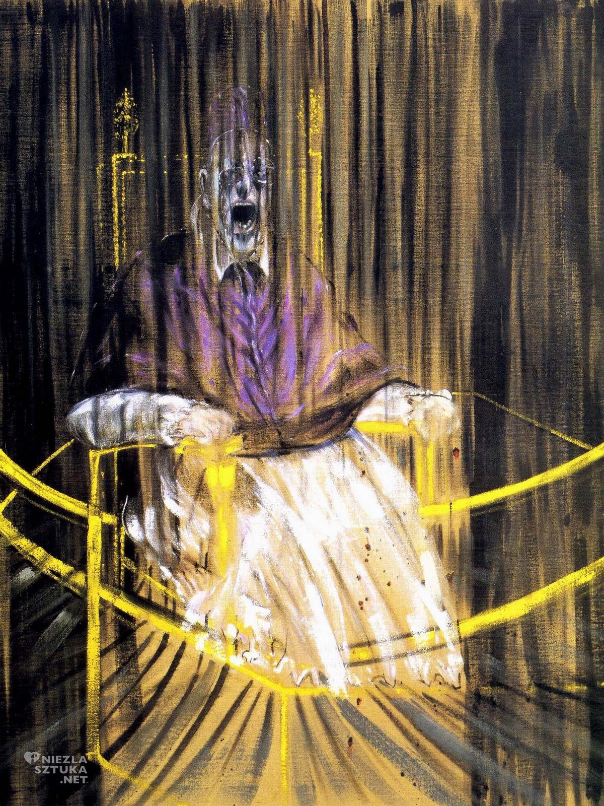 Francis Bacon, papież, Innocenty X, Velazquez, niezła sztuka