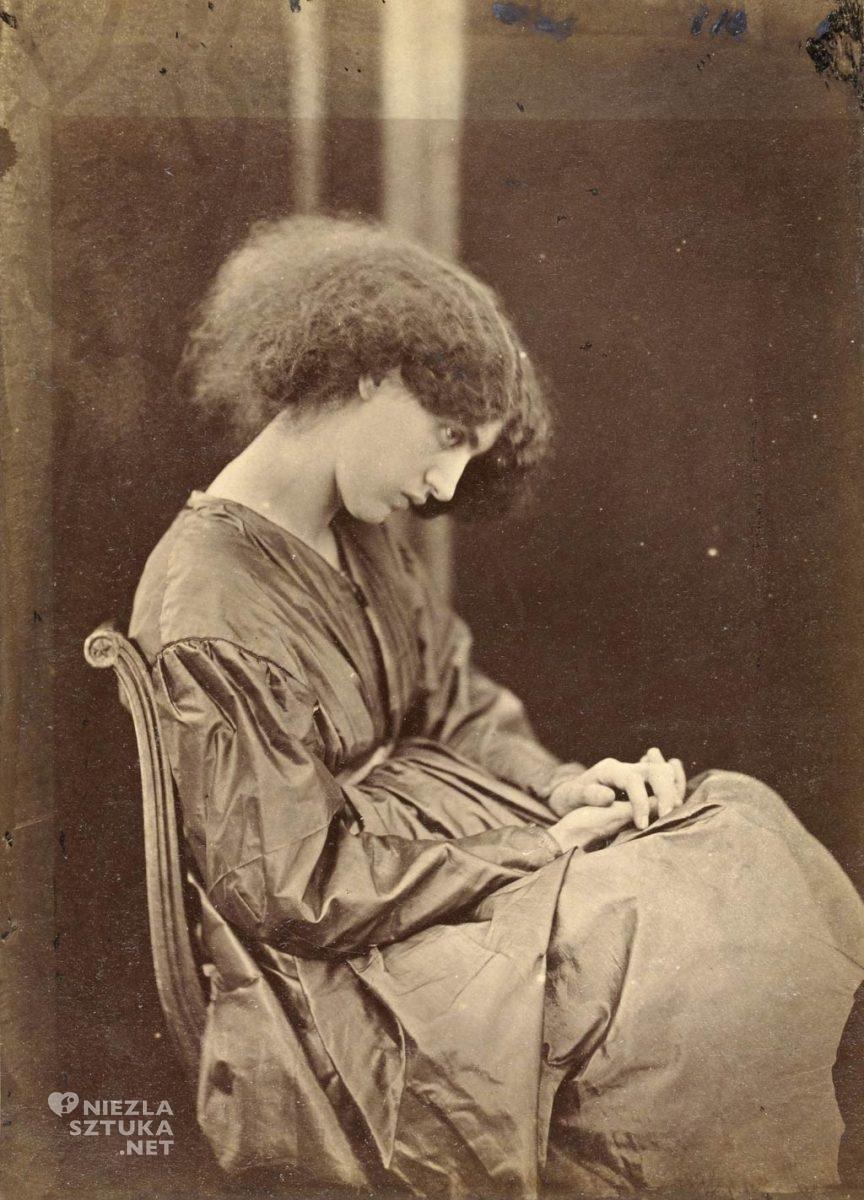 Jane Morris, fotografia, John Robert Parsons, muza, modelka, prerafaelici, Niezła Sztuka