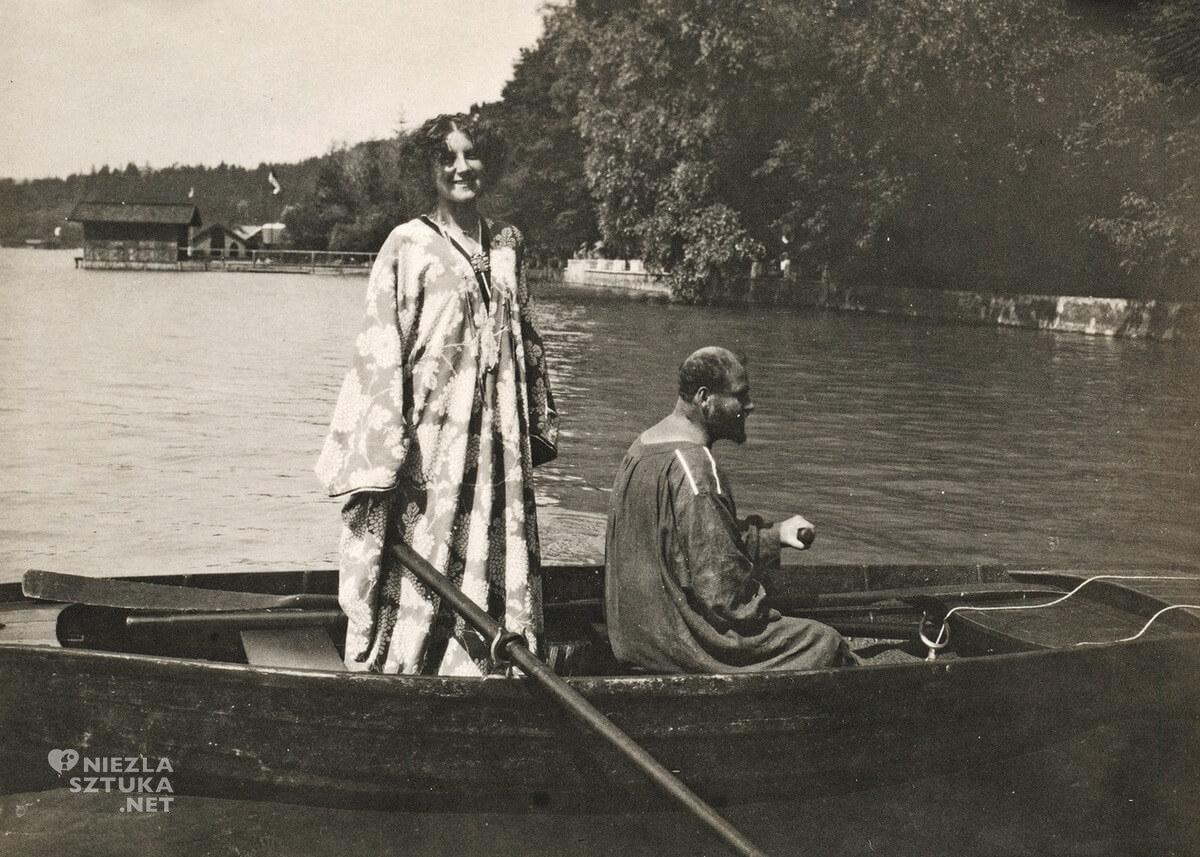 Emilie Flöge, Gustav Klimt, Austria, Attersee, niezła sztuka