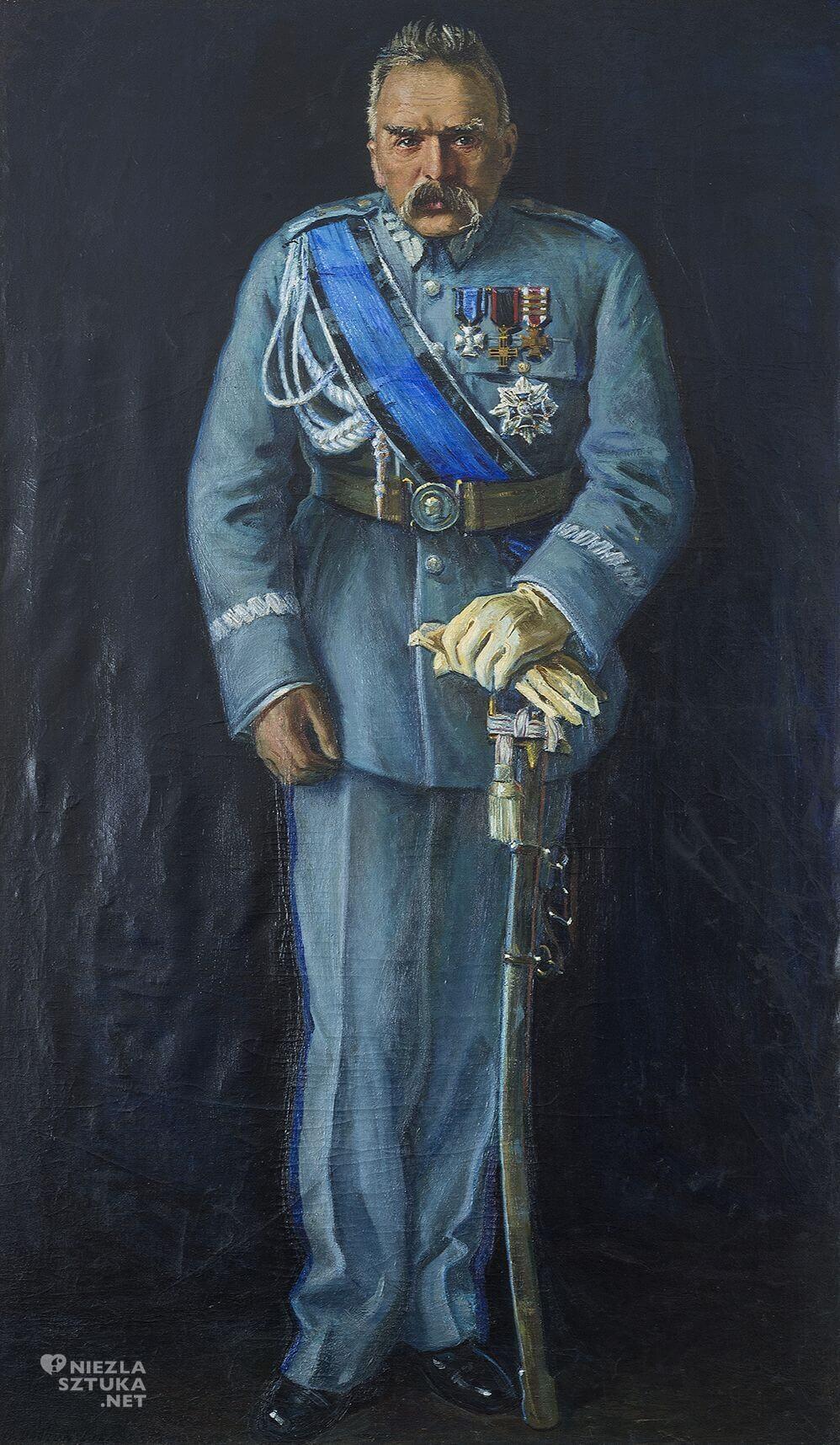 Wacław Dobrowolski, Portret Józefa Piłsudskiego, Niezła sztuka