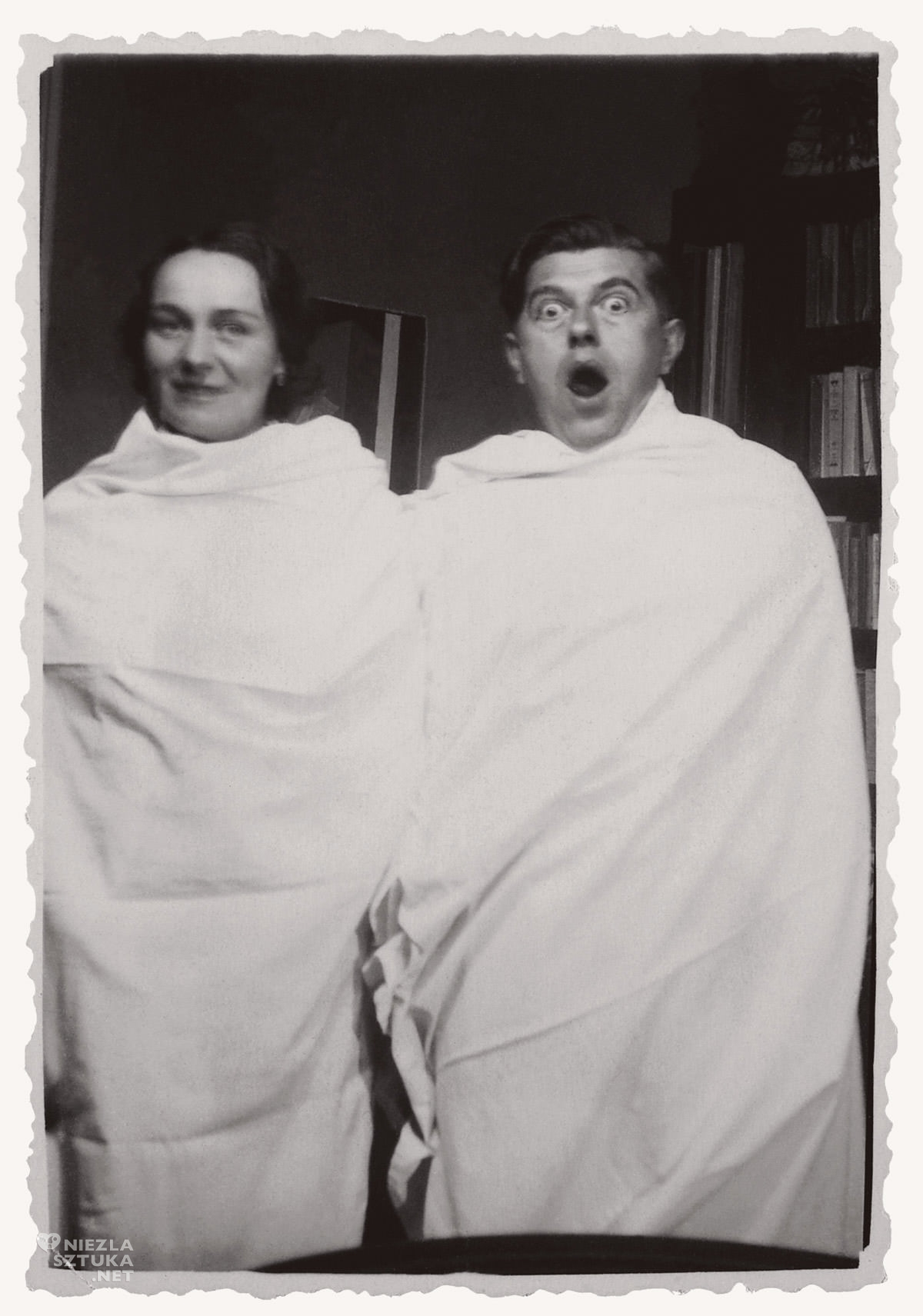 René Magritte, Georgette Magritte, żona, bukiet, fotografia, Niezła Sztuka