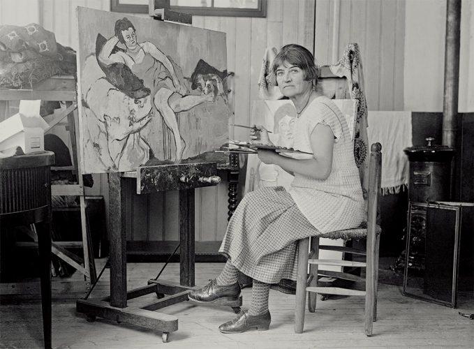 Suzanne Valadon, kobiety w sztuce, muza, malarka, Niezła Sztuka