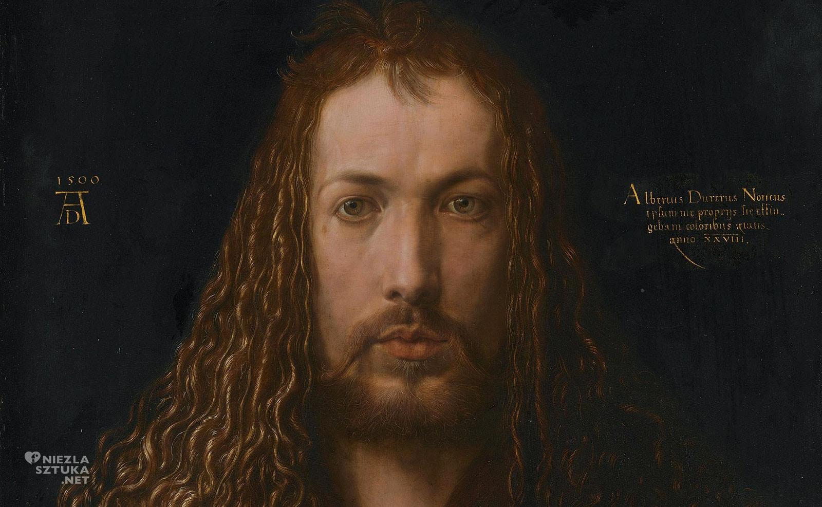 Albrecht Dürer, Autoportret w futrze, Niezła Sztuka