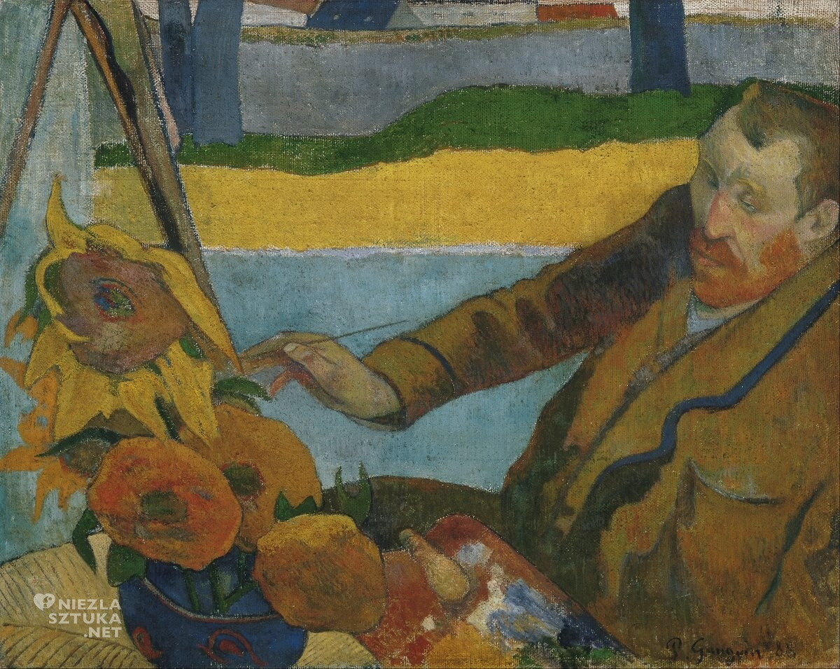 Paul Gauguin Vincent van Gogh, niezła sztuka