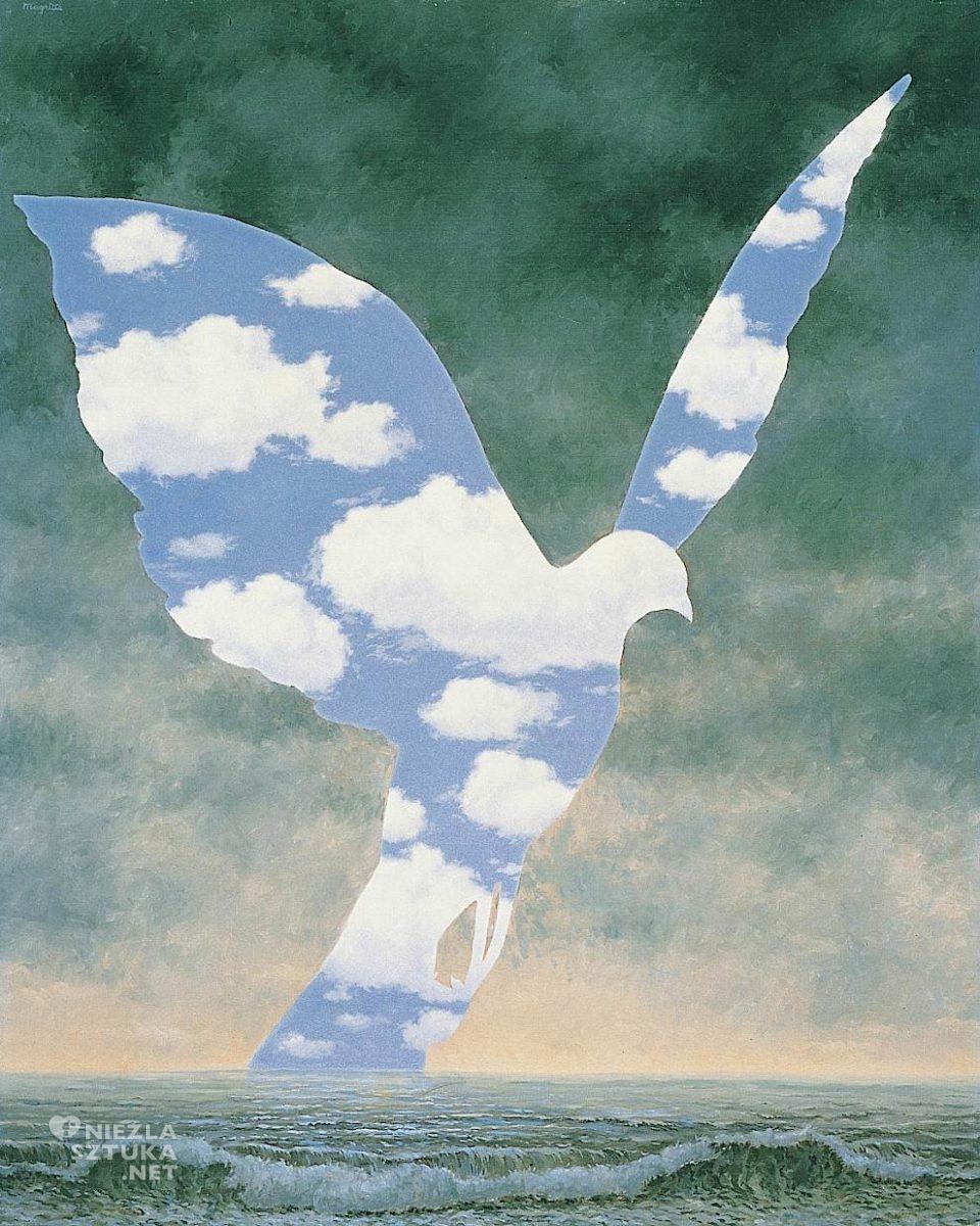 René Magritte, Wielki rodzinny, surrealizm, Belgia, Niezła Sztuka