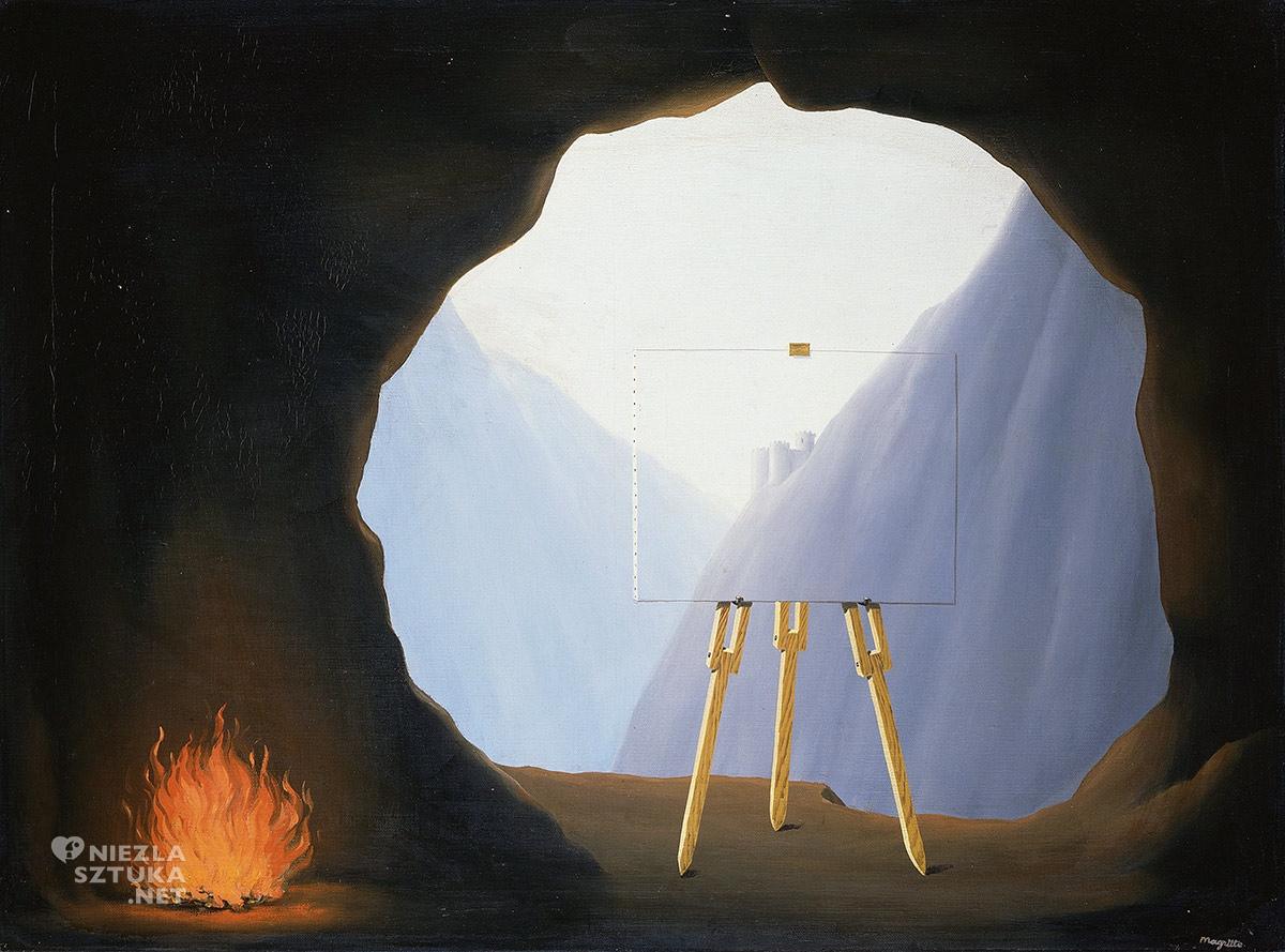 René Magritte, Kondycja ludzka, surrealizm, Belgia, Niezła Sztuka
