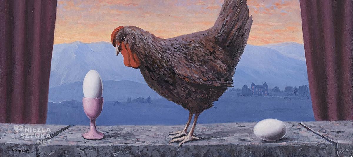 René Magritte, Wariacje smutku, surrealizm, Belgia, Niezła Sztuka