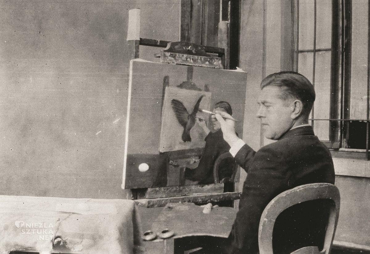 René Magritte, surrealizm, artysta, Belgia, Niezła Sztuka