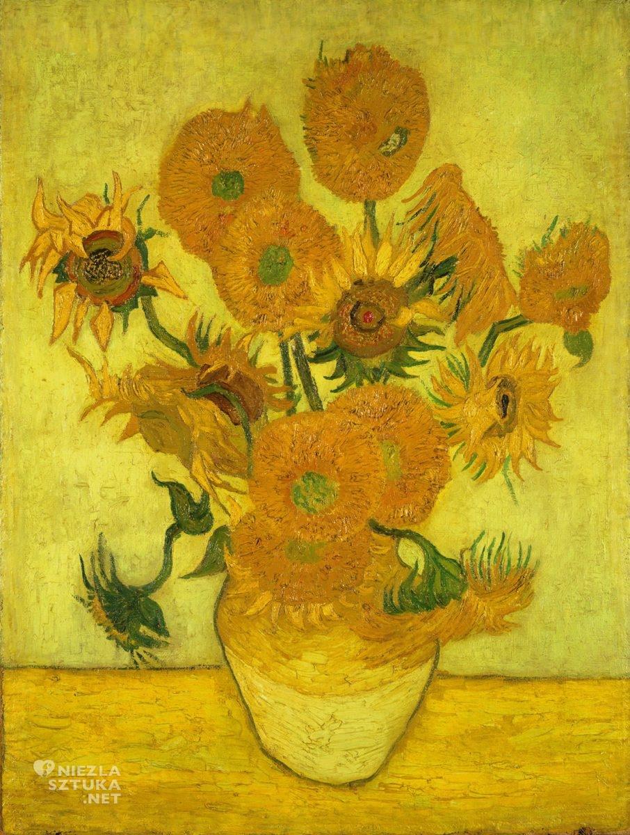 Vincent van Gogh, van Gogh słoneczniki, słoneczniki, Seiji Togo Memorial Sompo Japan Museum of Art Tokio, malarstwo holenderskie, Niezła sztuka