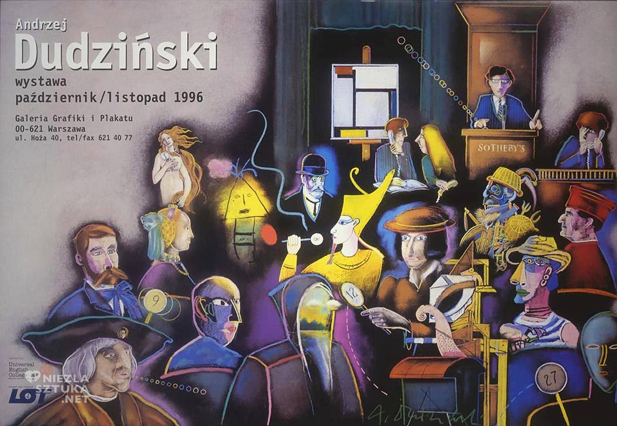 Andrzej Dudziński, wystawa, plakat, Galeria Grafiki i Plakatu, Niezła Sztuka