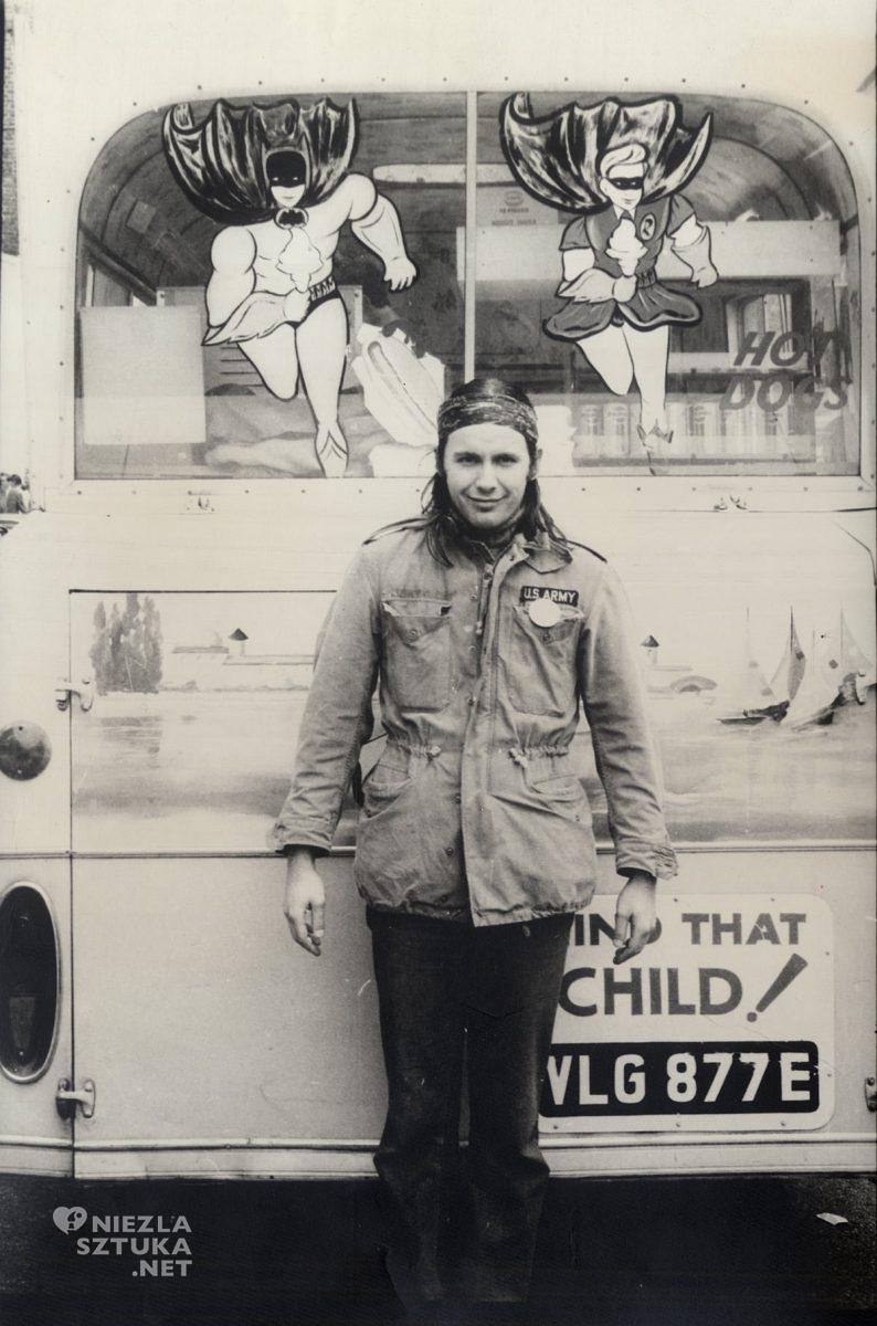 Andrzej Dudziński, Portobello Road, fotografia, artysta, Niezła Sztuka