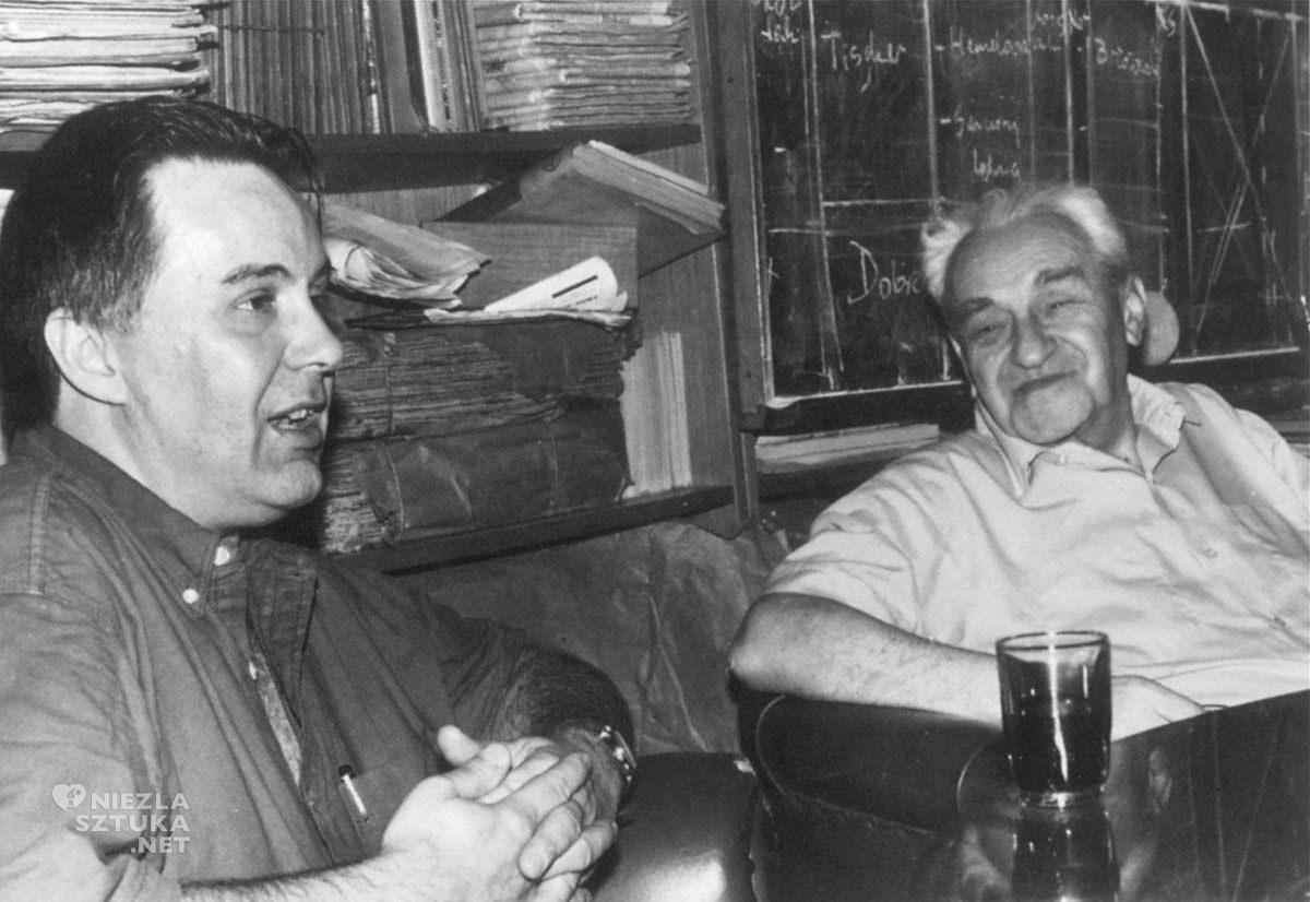 Andrzej Dudziński, Jerzy Turowicz, fotografia, Tygodnik Powszechny, Niezła Sztuka