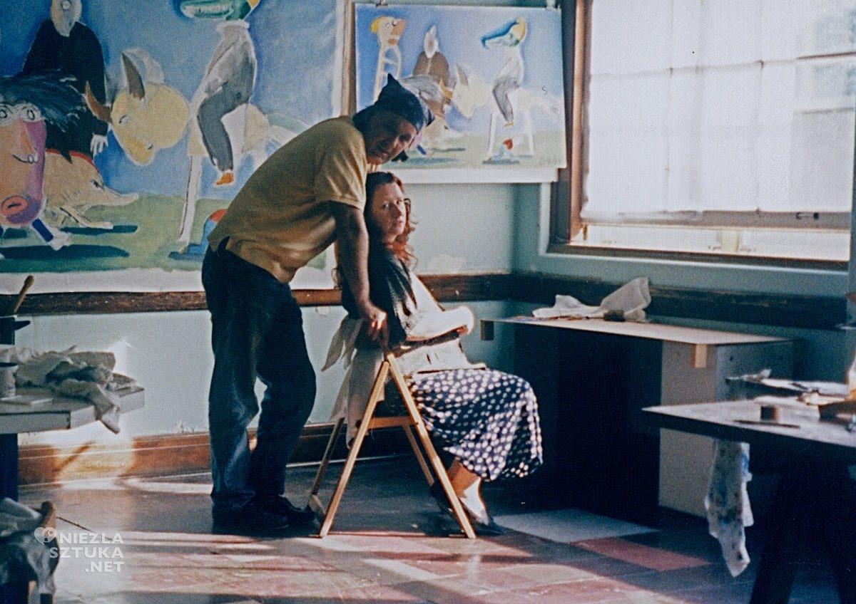 Andrzej Dudziński, Magda Dygat, pracownia artysty, małżeństwo, Niezła Sztuka