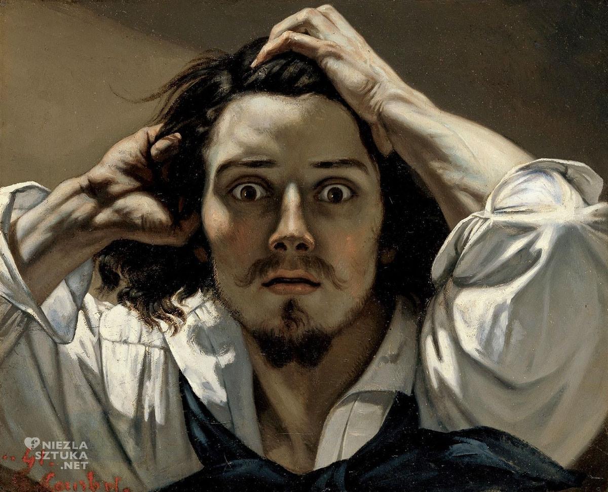 Gustave Courbet, Desperat, Autoportret, Niezła sztuka