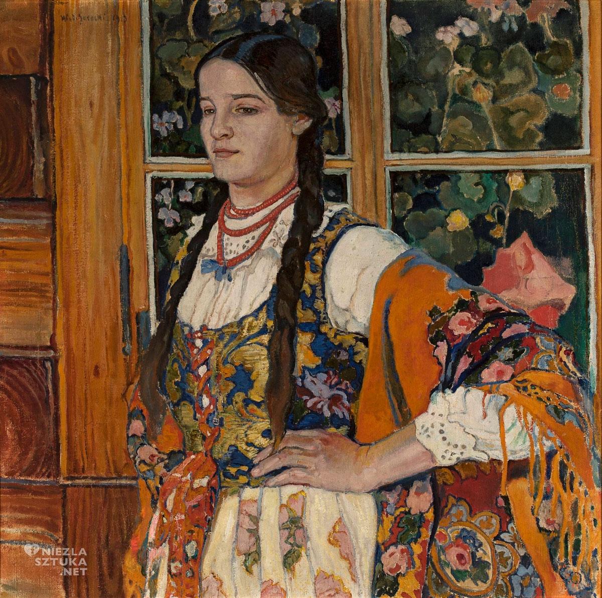 Władysław Jarocki, Helenka z Poronina, górale, góralka, Młoda Polska, niezła sztuka