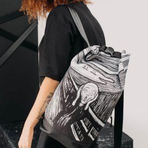 Lefthandmade, Karolina Kosela, plecak z Fridą, Niezła sztuka