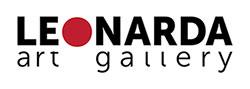 leonarda art gallery logo, niezła sztuka