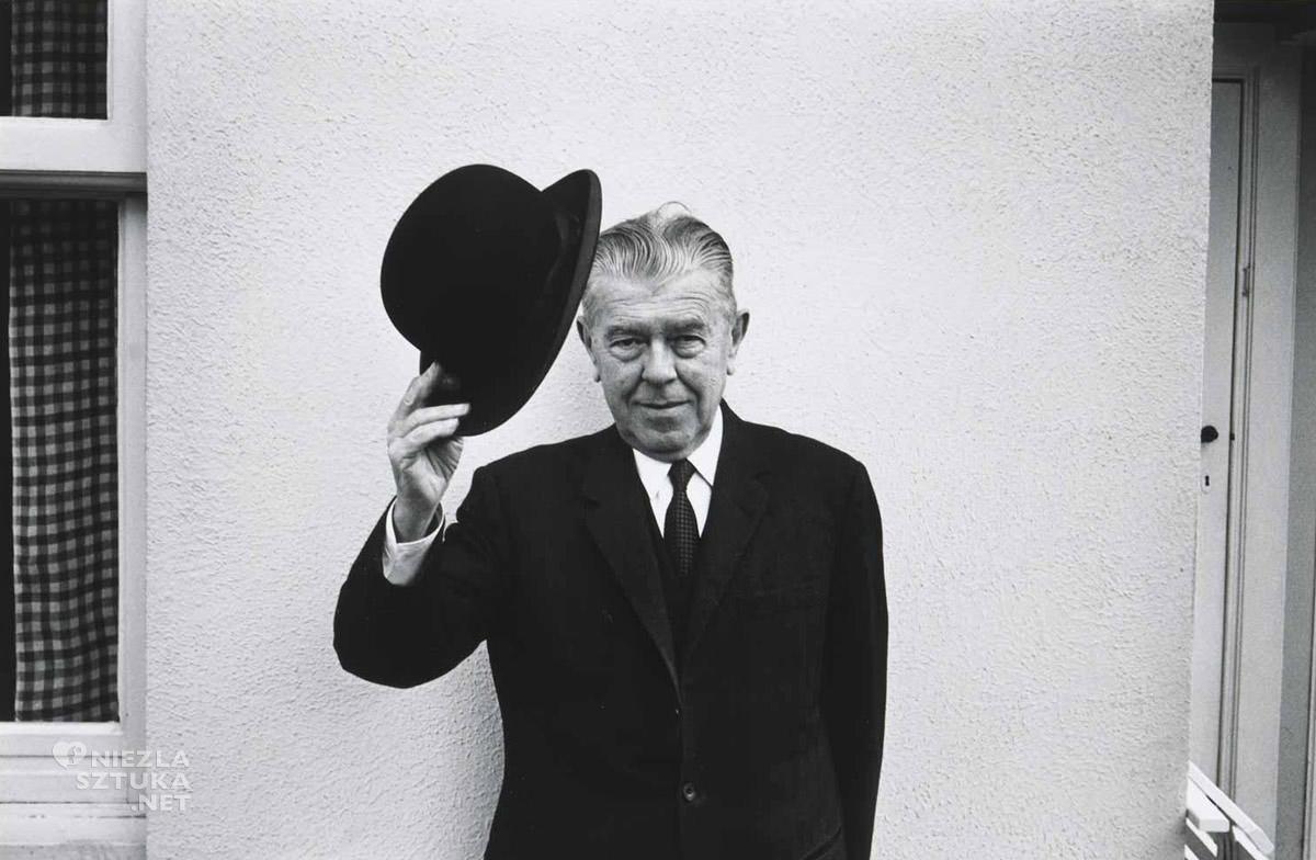 Rene Magritte, fotografia, Duane Michals, Niezła Sztuka