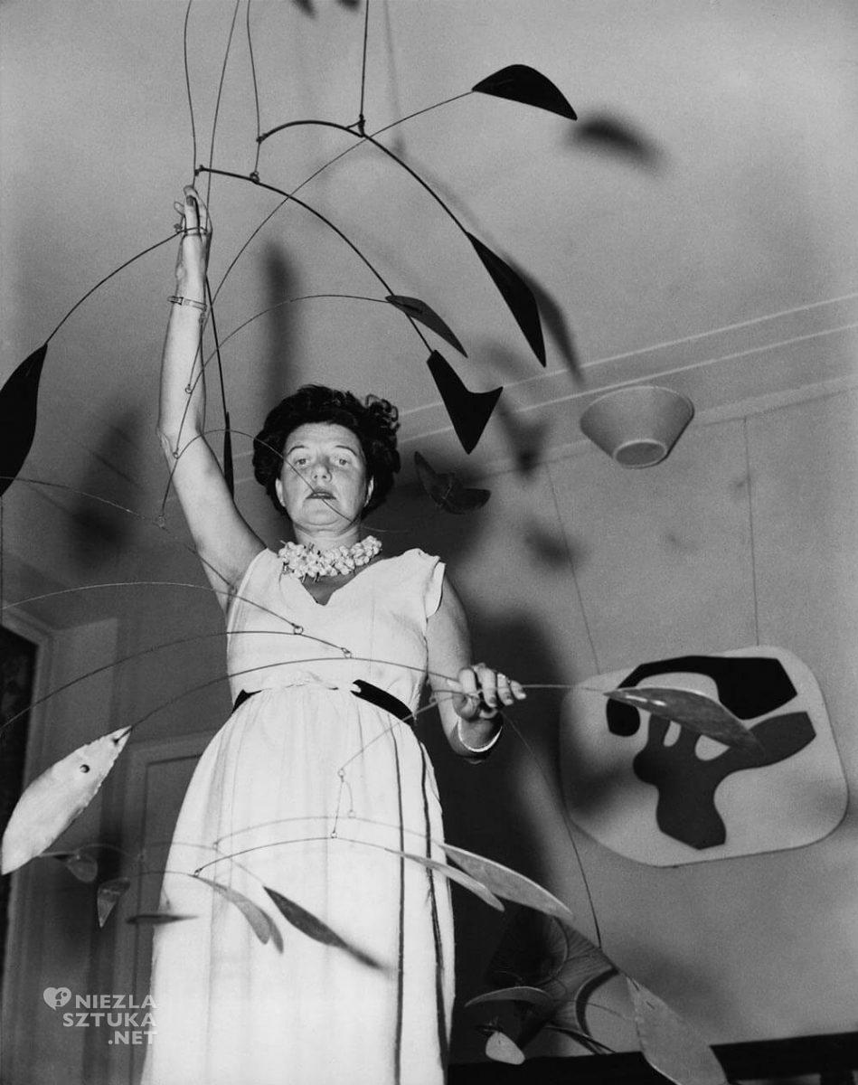 Peggy Guggenheim, Alexander Calder, sztuka współczesna, Niezła Sztuka