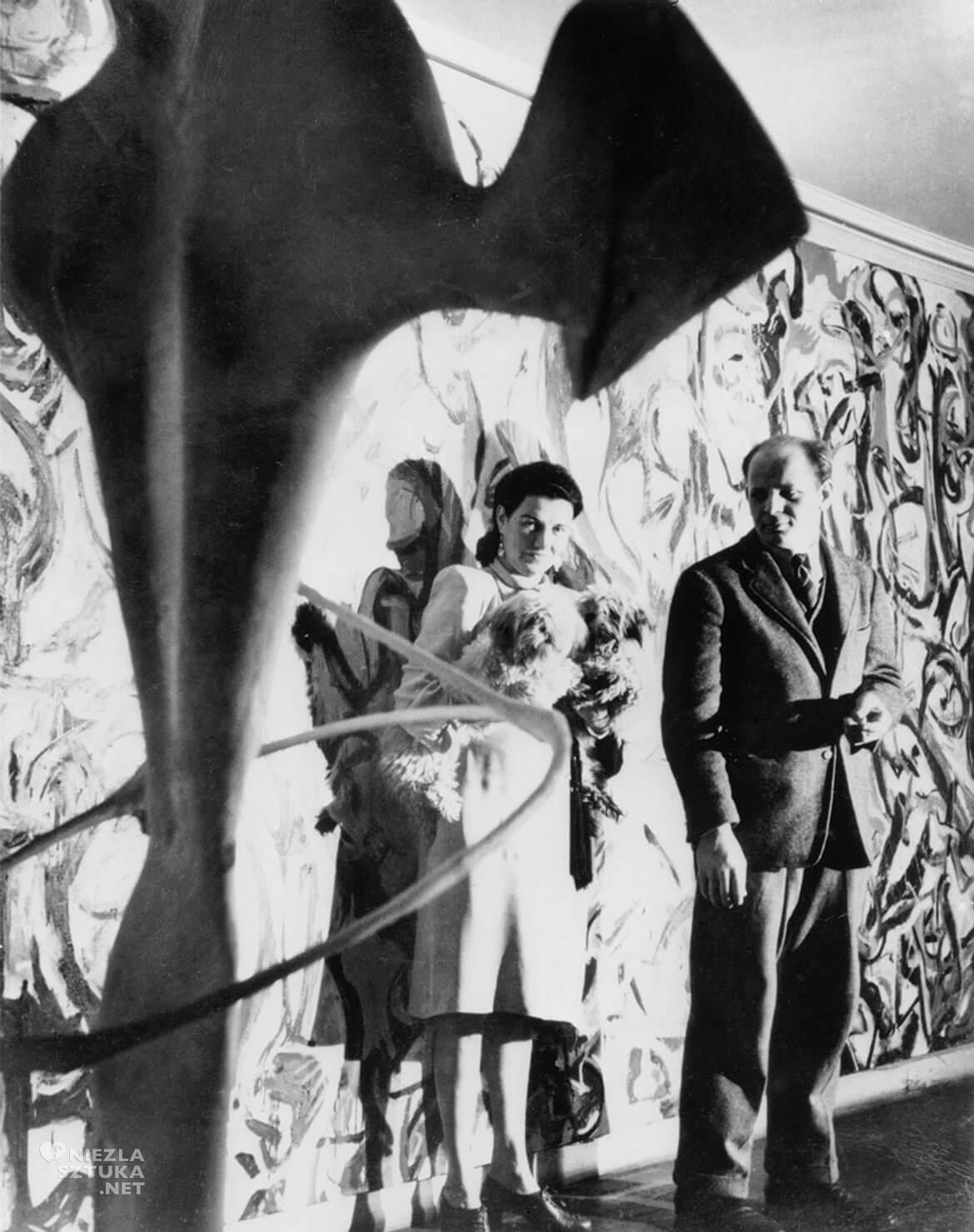 Peggy Guggenheim, Jackson Pollock, George Karger, sztuka współczesna, Niezła Sztuka