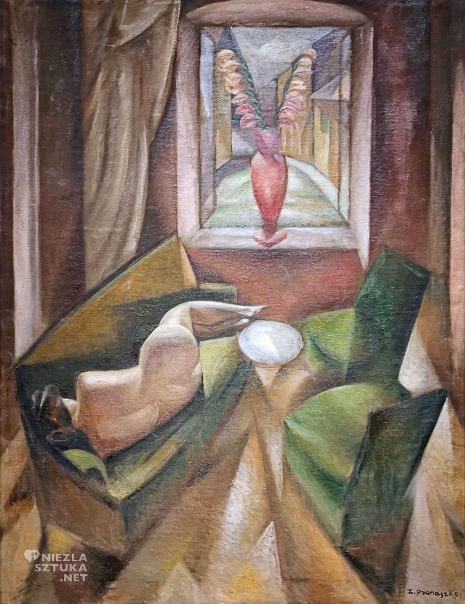 Zbigniew Pronaszko, malarz polski, malarstwo polskie, sztuka polska, akt, kobieta, Niezła sztuka