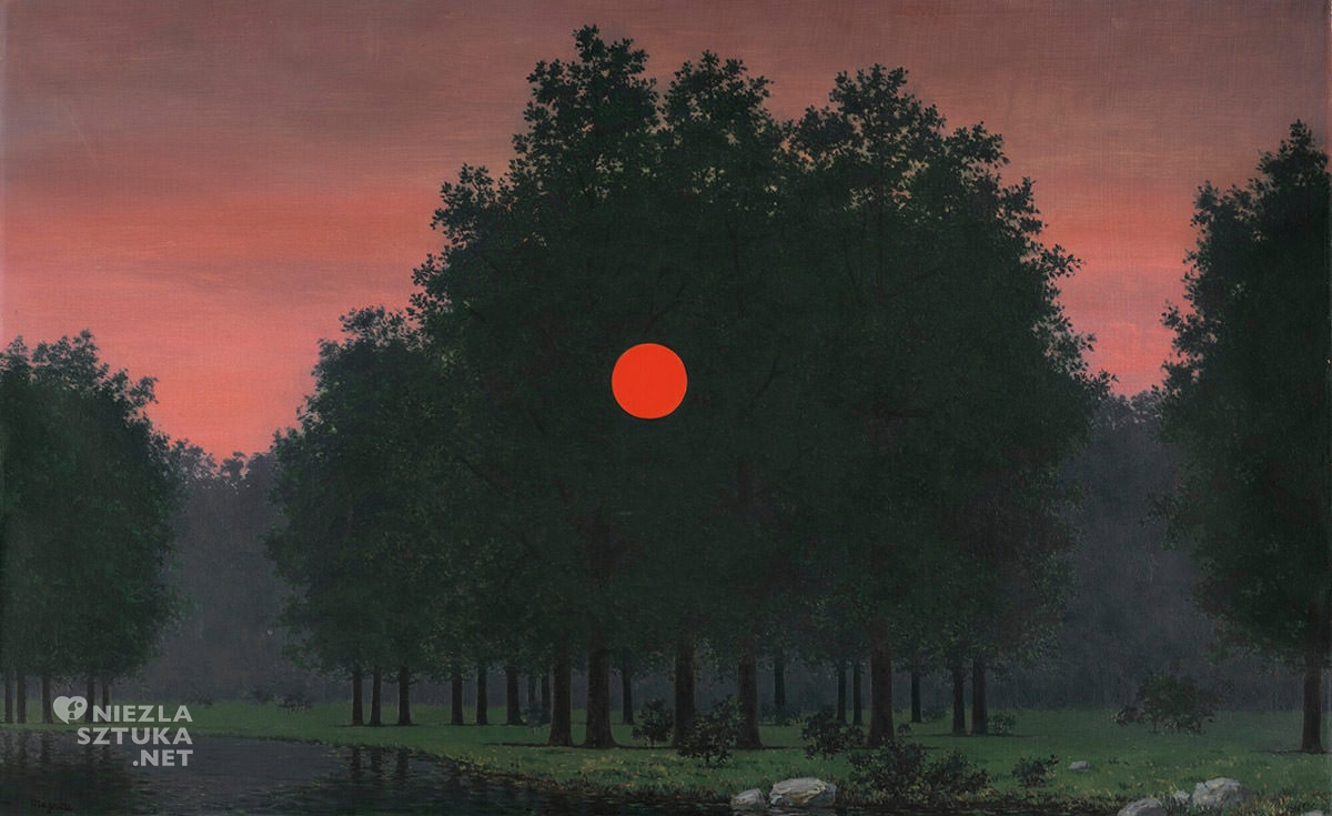 René Magritte, Bankiet, surrealizm, Belgia, Niezła Sztuka