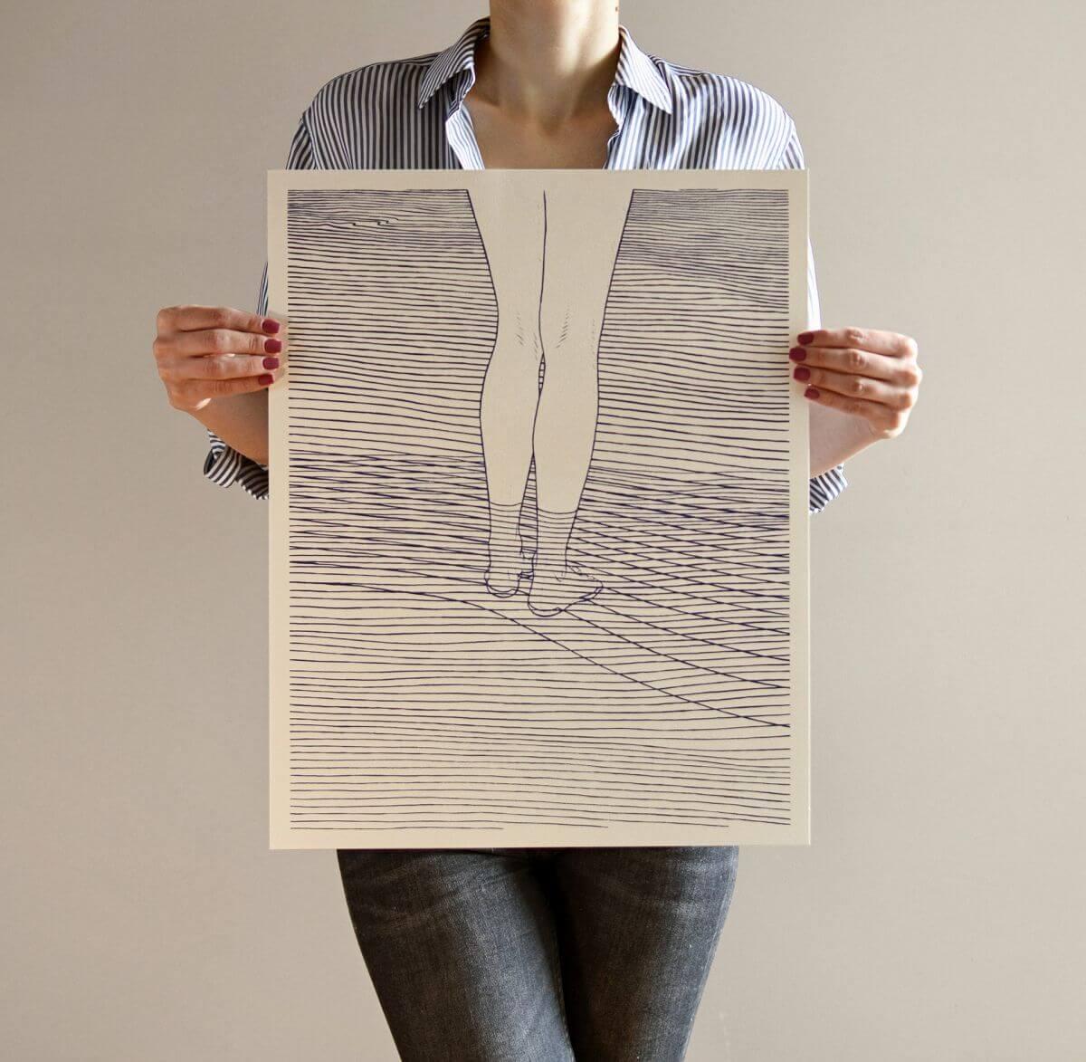 bartosz kosowski, ilustracja, lolita plakat, ilustrator, niezła sztuka