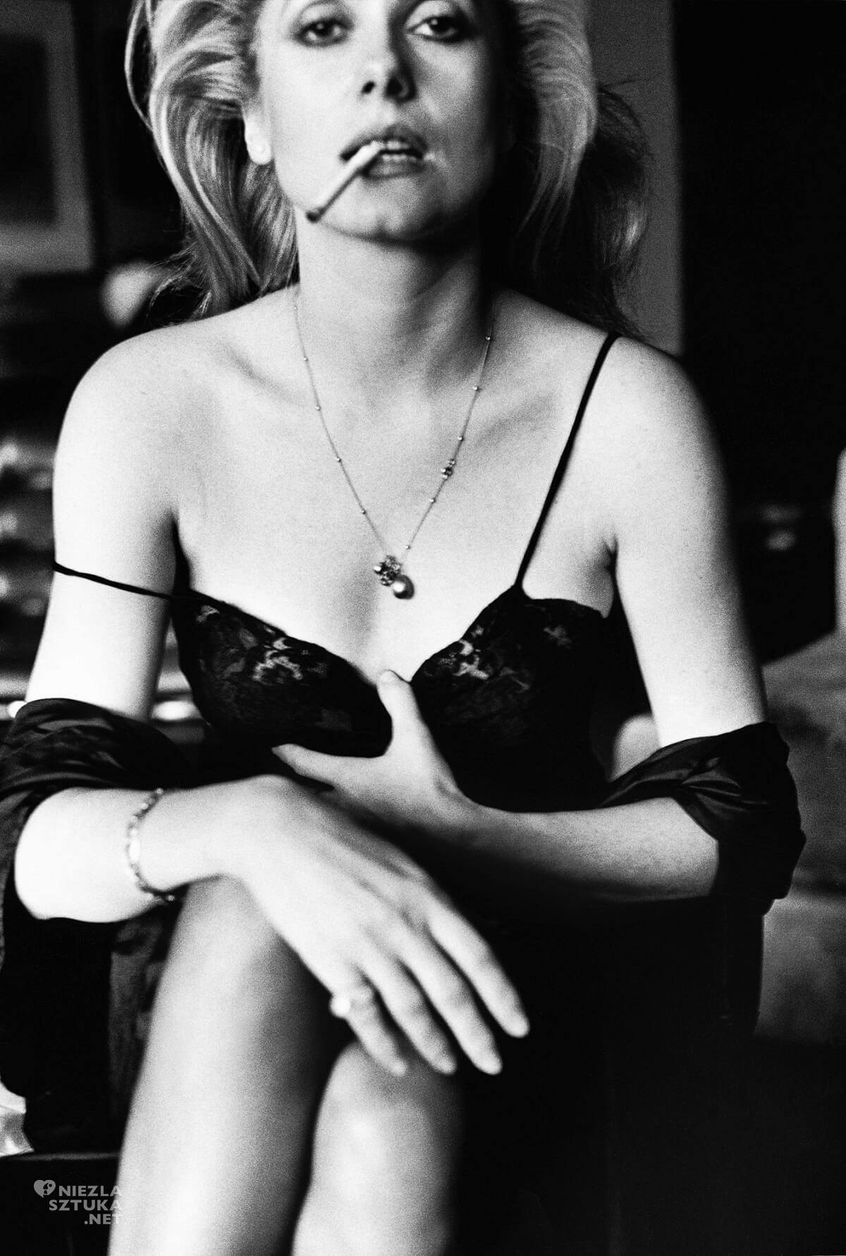 Helmut Newton, Catherine Deneuve, aktorka, fotograf, Esquire Paris, Niezła Sztuk