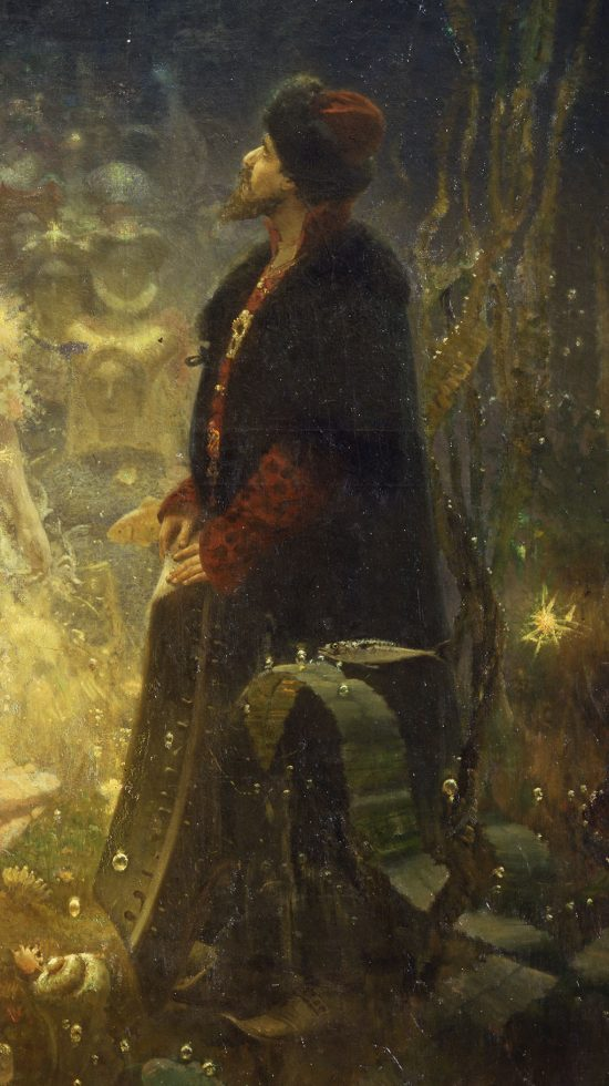 Ilja Riepin, Sadko w podwodnym królestwie, sztuka rosyjska, malarstwo rosyjskie, Niezła Sztuka