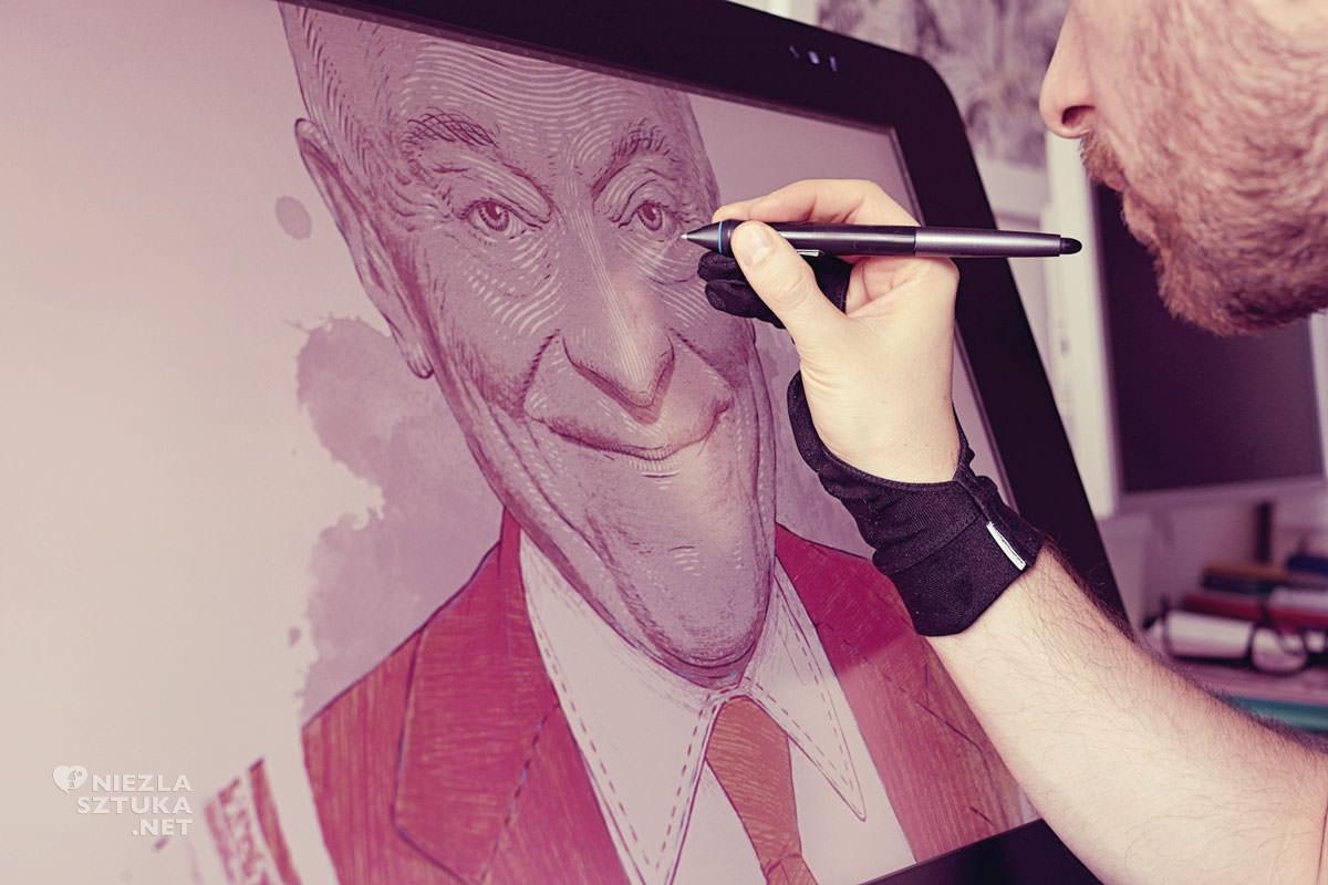 bartosz kosowski, ilustracja, ilustrator, niezła sztuka