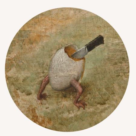 Pieter Bruegel starszy, Kraina szczęśliwości, detal, Kukania, Kraina lenistwa, malarstwo niderlandzkie, Niezła Sztuka