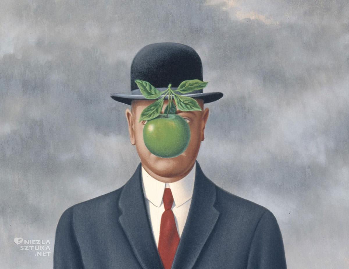 René Magritte, Syn człowieczy, surrealizm, Niezła sztuka