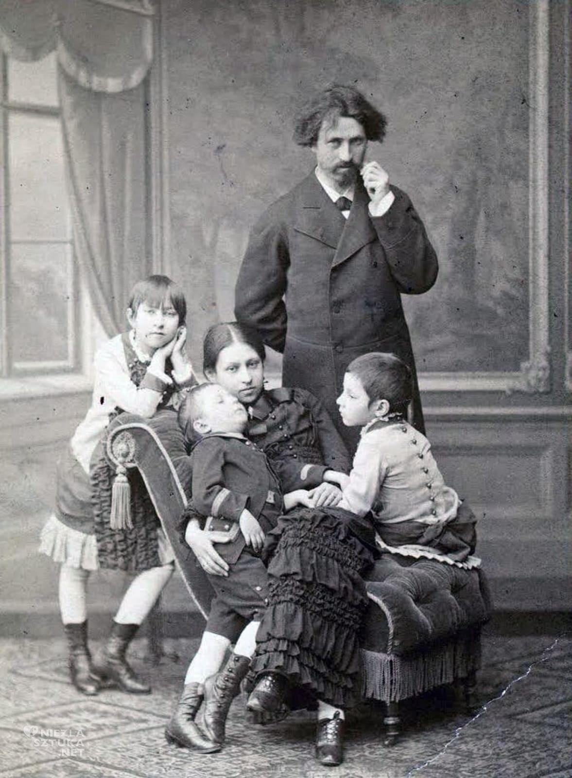 Ilja Riepin, żona, córki, syn, niezła sztuka