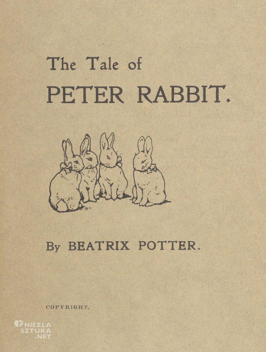 Beatrix Potter, The Tale of Peter Rabbit, ilustratorka, kobiety w sztuce, Niezła Sztuka