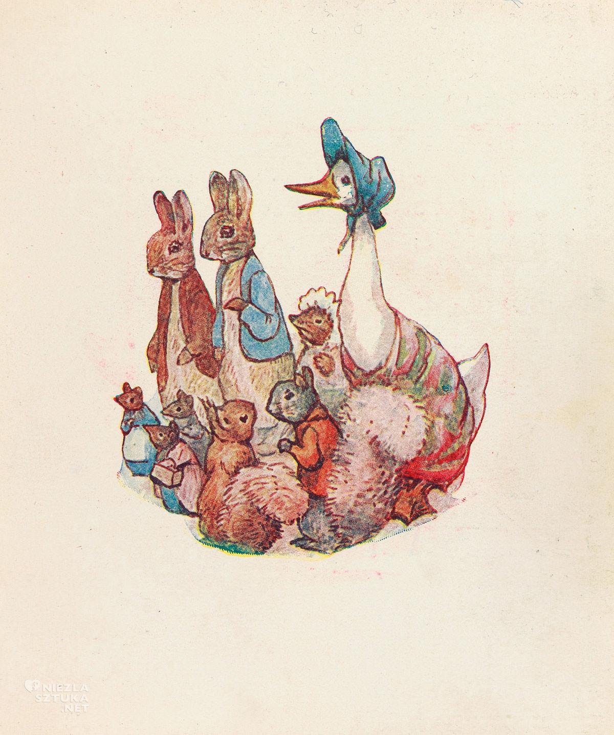 Beatrix Potter, Ilustracja, Cecily Parsley's Nursery Rhymes, książki dla dzieci, ilustraktorka, kobiety w sztuce, Niezła Sztuka