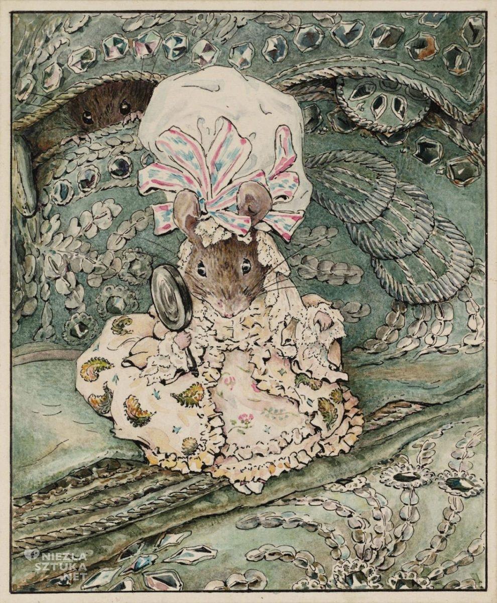 Beatrix Potter, Pani myszka w czepcu, ilustratorka, kobiety w sztuce, Niezła Sztuka