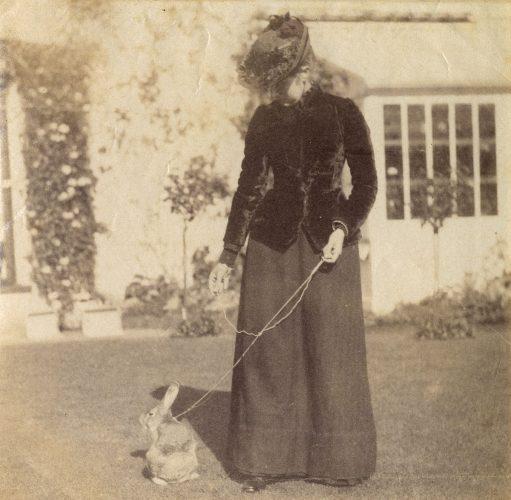 Beatrix Potter, Benjamin Bouncer, królik, zwierzęta, fotografia, kobiety w sztuce, ilustratorka Niezła Sztuka
