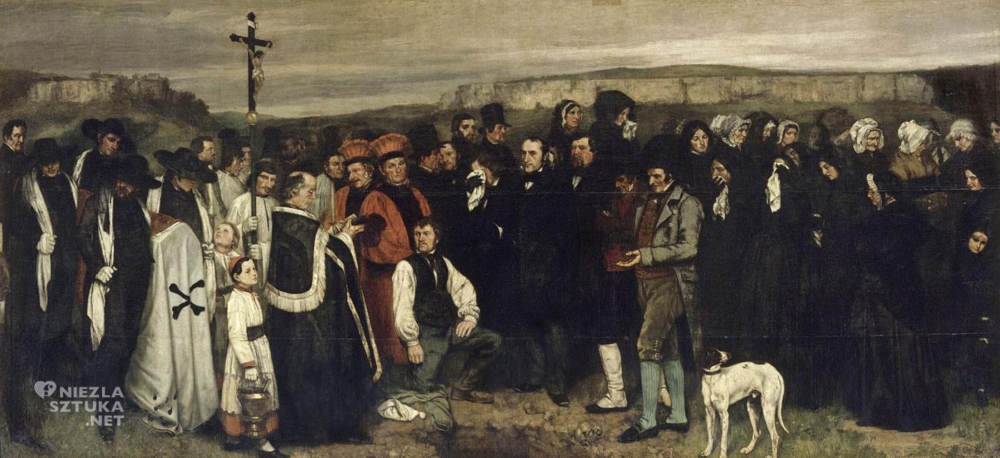 Gustave Courbet, Pogrzeb w Ornans, Musée d'Orsay, Paryż, Niezła sztuka