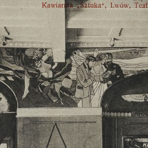 kawiarnia sztuka, lwów, sztuka polska, Niezła sztuka