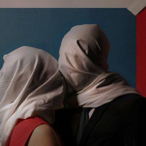 René Magritte, Kochankowie, fotografie, inspiracja, Zuzanna Trzcińska, Niezła Sztuka