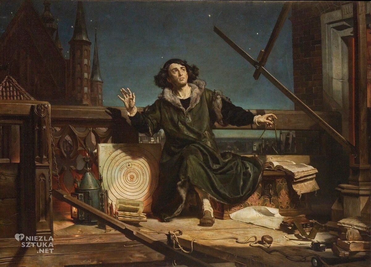 Jan Matejko, Kopernik, niezła sztuka