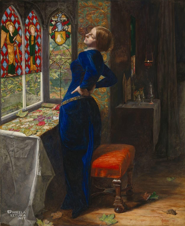 John Everett Millais, Mariana, prerafaelici, Anglia, Niezła Sztuka