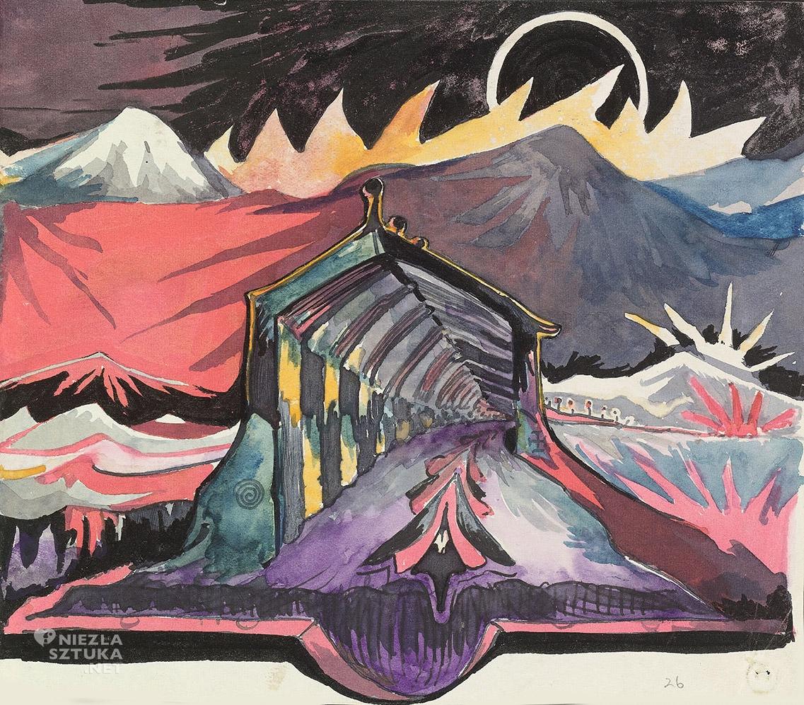 Tolkien, Krajobraz fantastyczny, ilustracja, książka, Niezła Sztuka