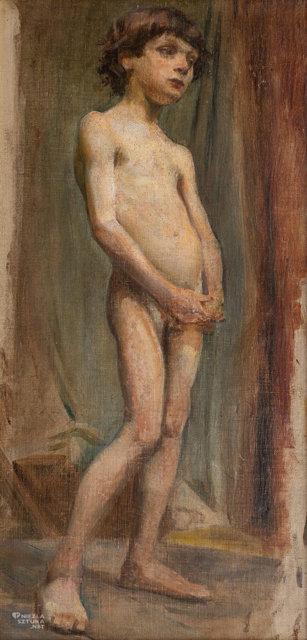 Stanisław Wyspiański, Akt chłopca, akt w sztuce, sztuka polska, malarstwo polskie, Niezła sztuka
